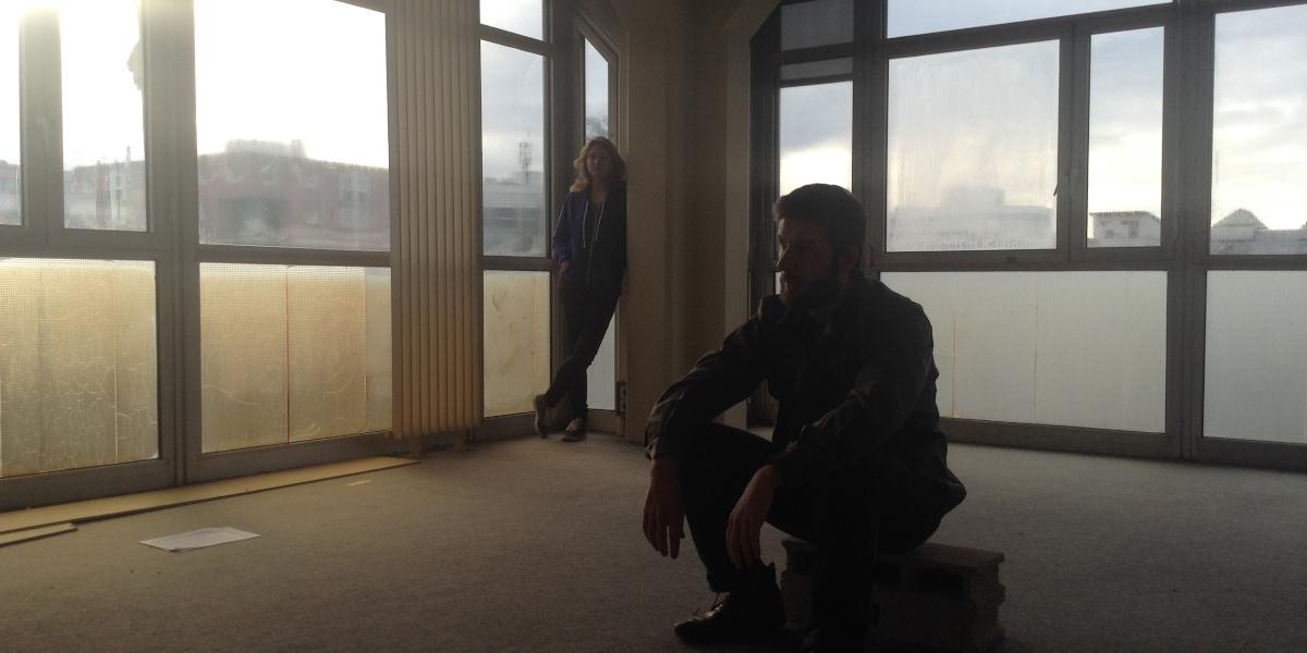 Siana 2015, tournage de l'œuvre de Thomas Léon