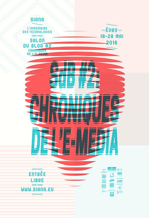 Affiche SdB#2 : Chroniques de l'e-media