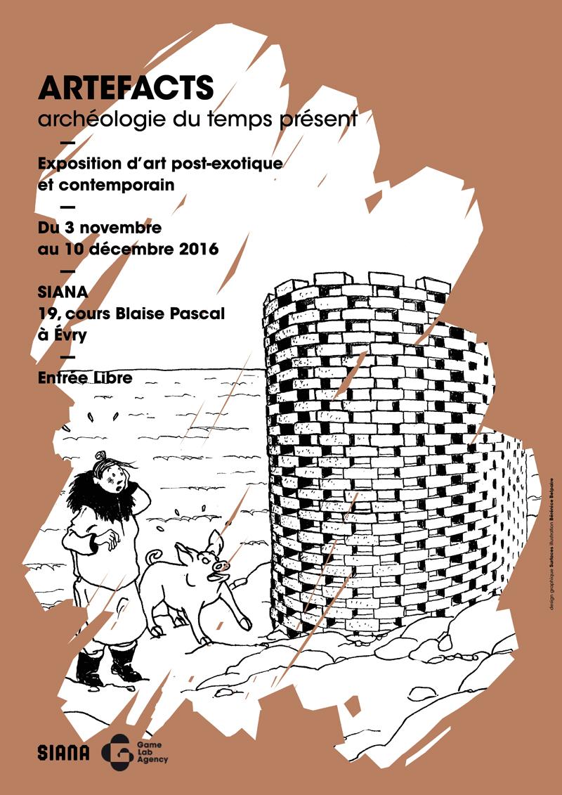 ARTEFACTS – archéologie du temps présent : nouvelle exposition à partir du 3 novembre 2016 !