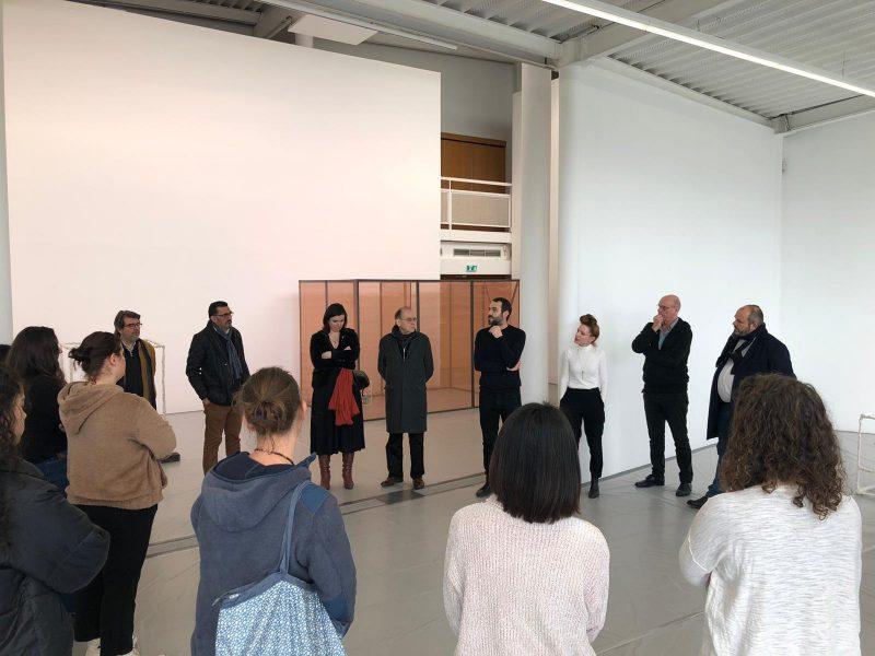 Déjeuner de février au Centre d'Art Contemporain Brétigny