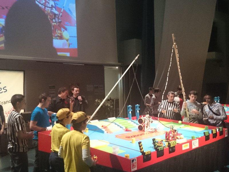 Siana partenaire de la finale régionale des Trophées de Robotique IdF