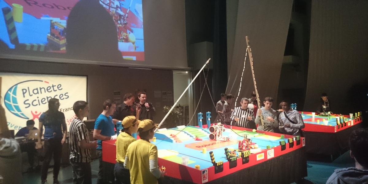 Trophées de Robotique de Planète Sciences ile-de-France, 2015