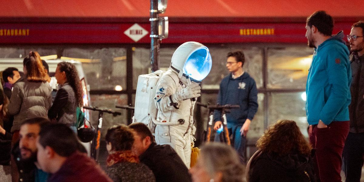 Exoterritoire, Frédéric Delias, Compagnie Clair Obscur, soirée de lancement Exoplanète Terre