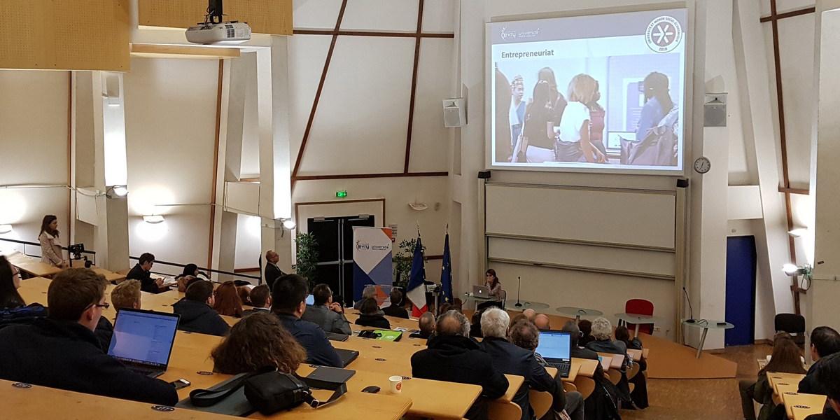 Les Journées Nationales de la réalité virtuelle à l'Université d'Evry