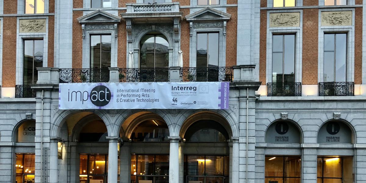Rencontres TRAS, Théâtre de Liège (Belgique), pendant le forum international IMPACT